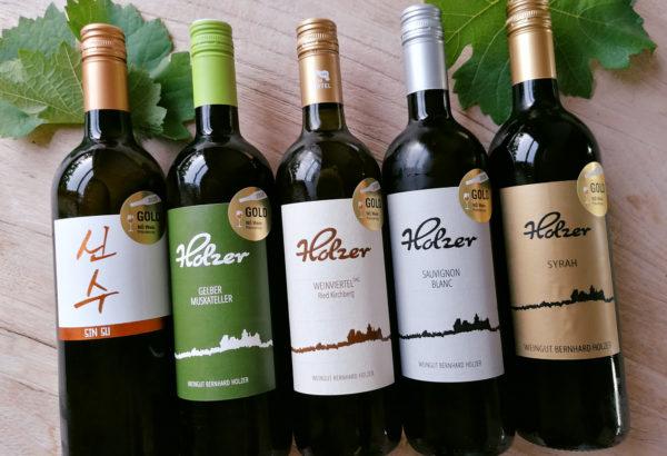 NÖ Wein Prämierung Auszeichnungen 2020